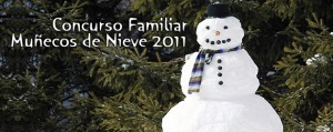 Concurso Familiar Muñecos de Nieve